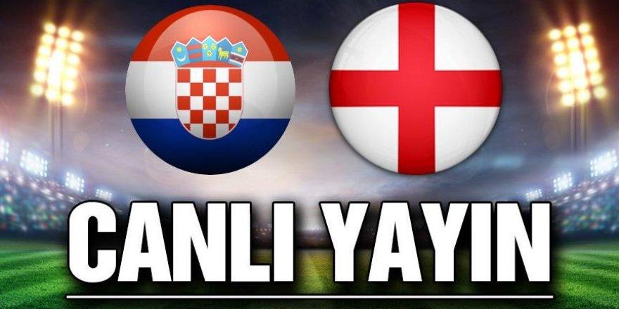 Hırvatistan - İngiltere maçı CANLI İZLE (12.10.2018)
