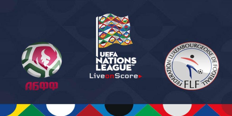 Belarus - Lüksemburg maçı CANLI İZLE (12.10.2018)