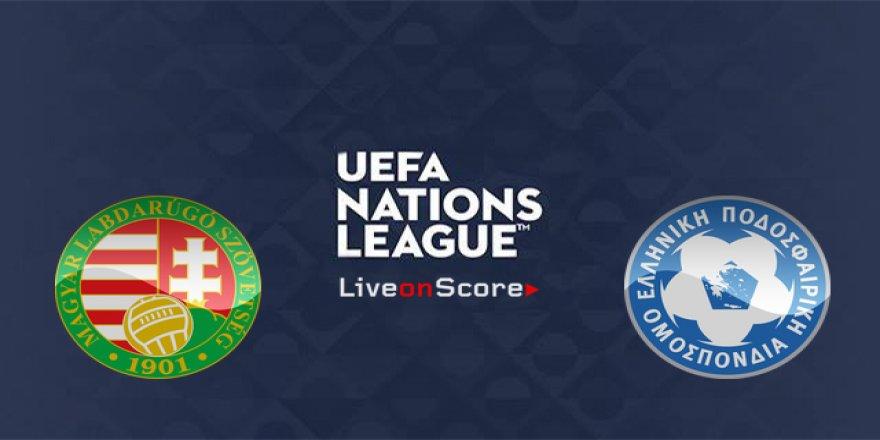 Yunanistan - Macaristan maçı CANLI İZLE (12.10.2018)
