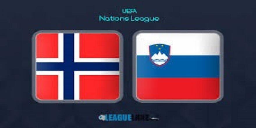 Norveç - Slovenya maçı CANLI İZLE (13.10.2018)