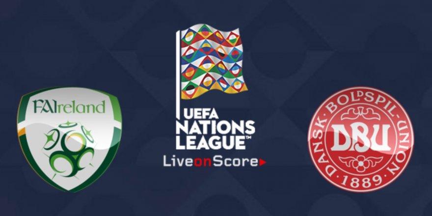 İrlanda - Danimarka maçı CANLI İZLE (13.10.2018)