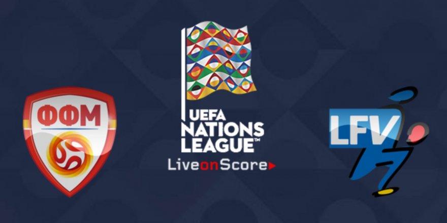 Makedonya - Liechtenstein maçı CANLI İZLE (13.10.2018)