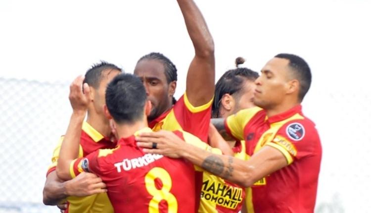 Göztepe'de Beşiktaş maçı hazırlıkları sürüyor
