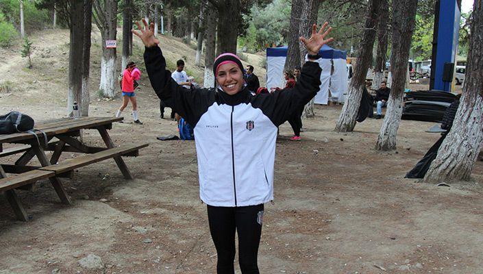 Burcu Subatan Turkcell Gelibolu Maratonu Yarışması'nda birinci oldu.