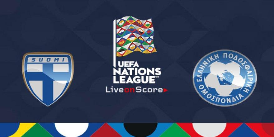 Finlandiya - Yunanistan maçı CANLI İZLE (15.10.2018)