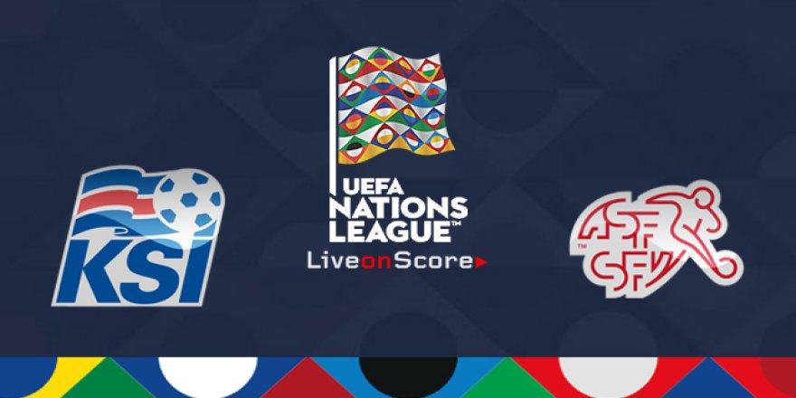 İzlanda - İsviçre maçı CANLI İZLE (15.10.2018)