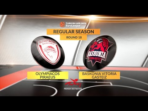 Saski Baskonia - Olympiakos maçı CANLI izle