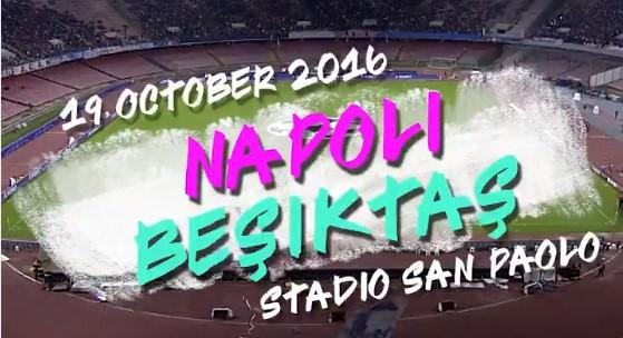 Şampiyonlar Ligi, Napoli-Beşiktaş maçını paylaştı!