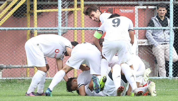 Beşiktaş U-19 Takımı Göztepe'yi 2 golle mağlup etti!