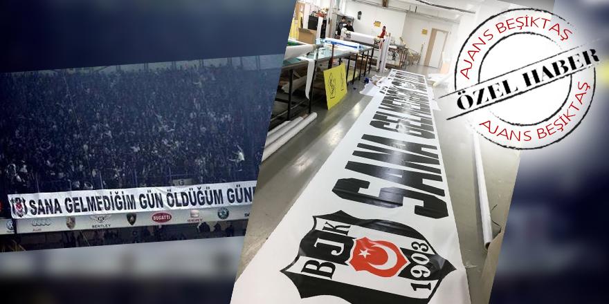 ÖZEL | Efsane pankart yeniden yaptırıldı!