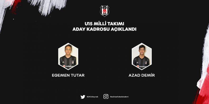 U15 Milli Takımı'na Beşiktaş'tan 2 davet!