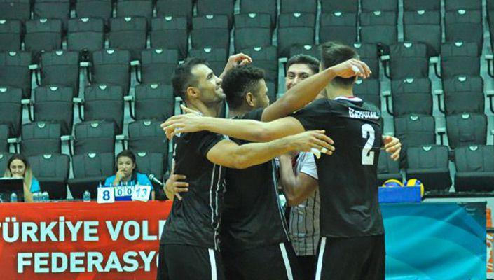 Beşiktaş Erkek Voleybol Takımı'ndan galibiyet!