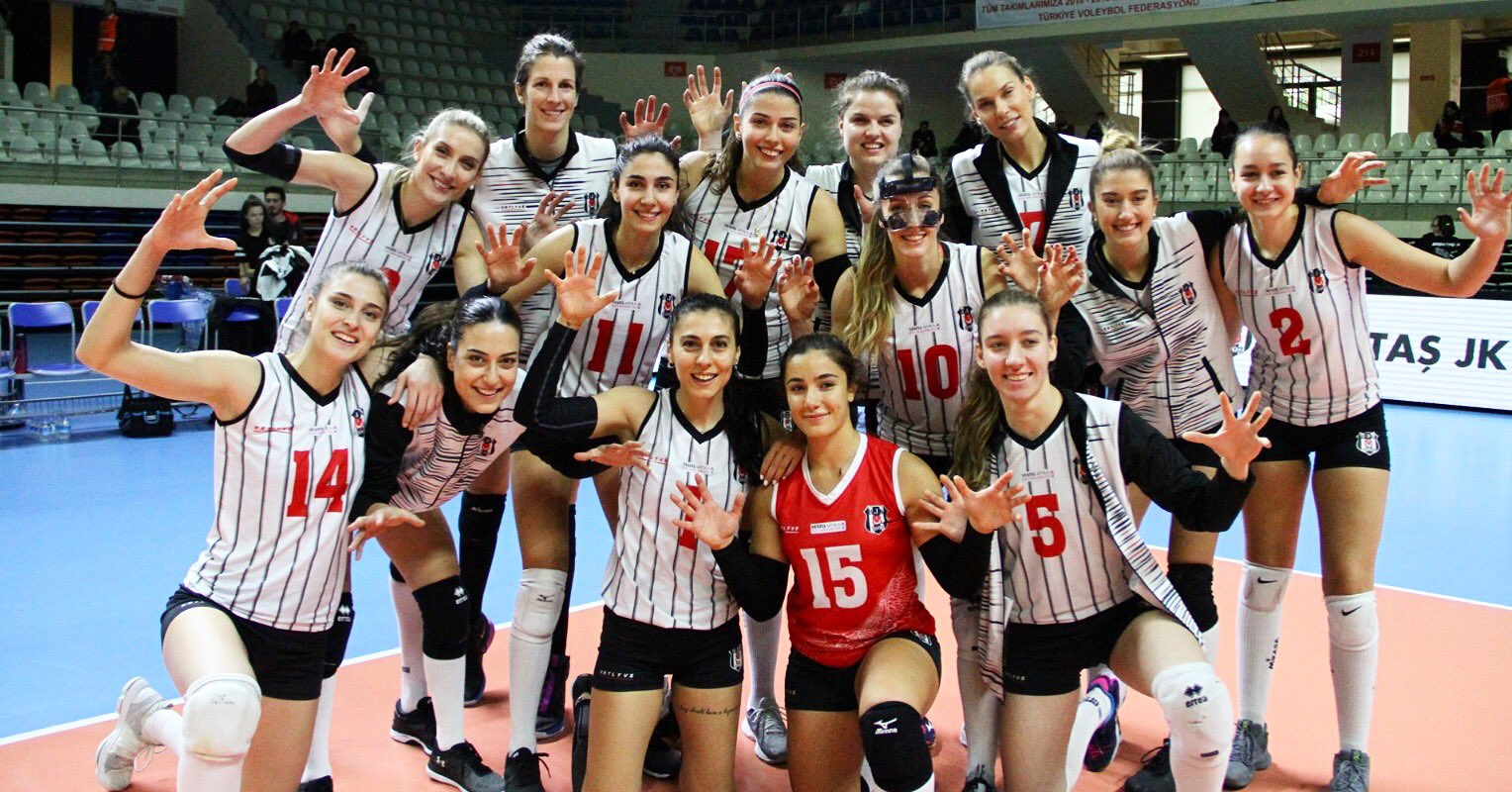 Beşiktaş, CEV Challenge Kupası'nda üçüncü tura çok yakın!