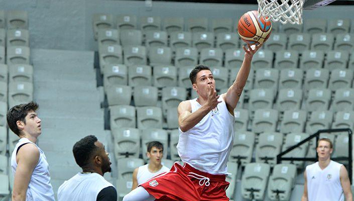 Beşiktaş'ta Gaziantep Basketbol maçı hazırlıkları başladı