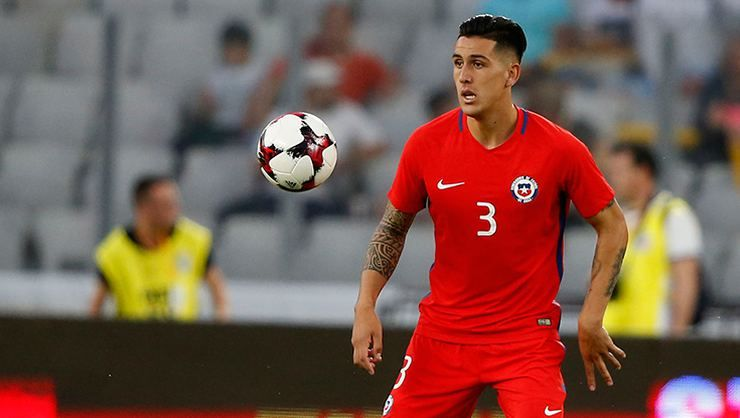 Enzo Roco sakatlandı! Şili Futbol Federasyonu'ndan açıklama