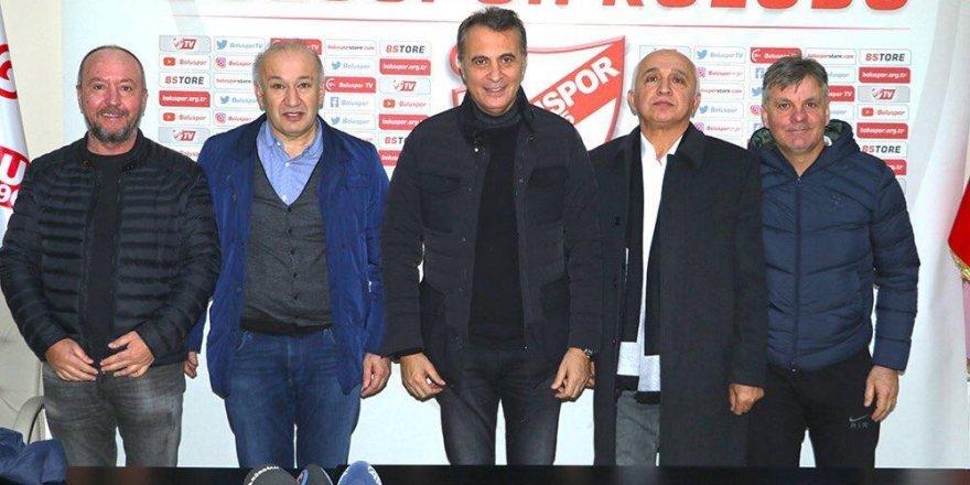 Fikret Orman, Boluspor Başkanı ile buluştu