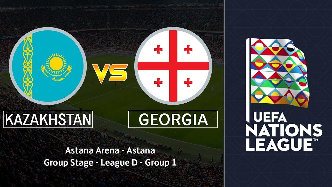Gürcistan - Kazakistan maçı CANLI İZLE (UEFA Uluslar Ligi 19.11.2018)