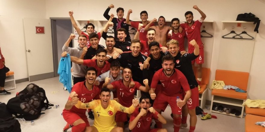 U19 Milli Takımı, Elit Tur'a yükseldi