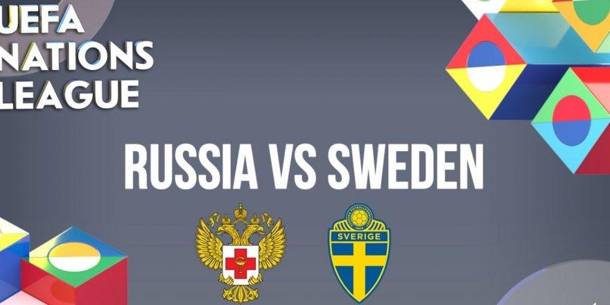 İsveç - Rusya maçı CANLI İZLE (UEFA Uluslar Ligi 20.11.2018)
