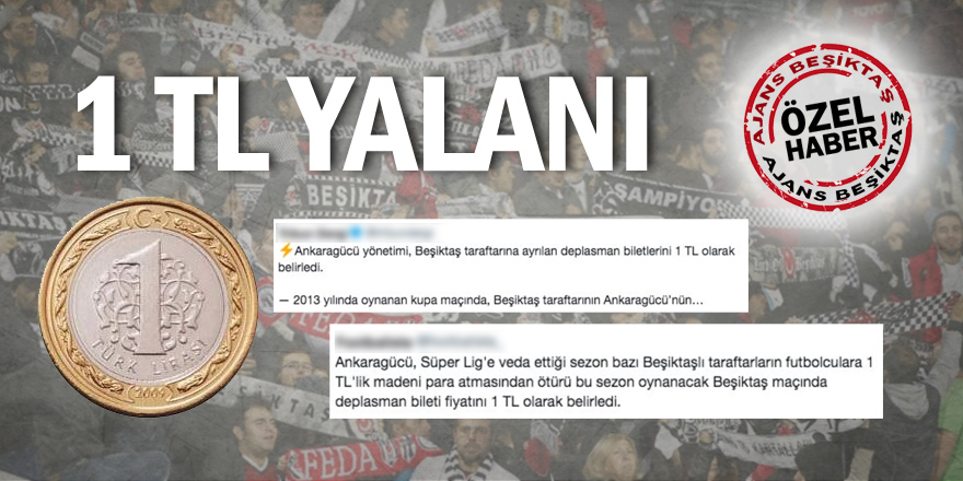 """Beşiktaş üzerinde algı oyunları bitmiyor! """"Bozuk para"""" olayı aslında hiç yaşanmadı"""