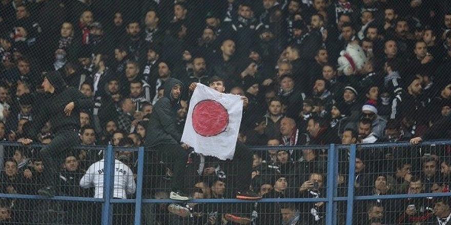 Beşiktaş'tan Kadıköy'de Japon bayrağı