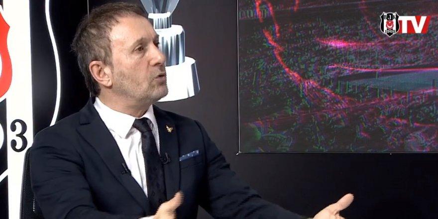 Beşiktaş Başkan adayı Hürser Tekinoktay, BJK TV'de projelerini anlattı