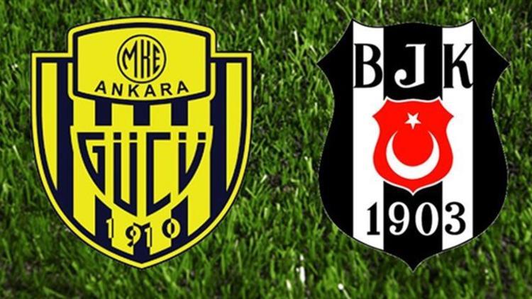 Ankaragücü - Beşiktaş maçı öncesi muhtemel 11'ler