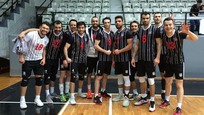 Beşiktaş Erkek Voleybol takımından 3-0'lık galibiyet