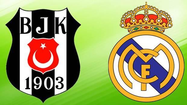 Beşiktaş-Real Madrid rekabeti sürüyor