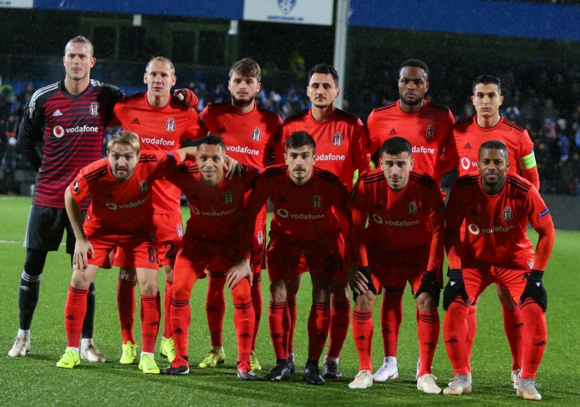 Beşiktaş'ın Sarpsborg maçı 11'i