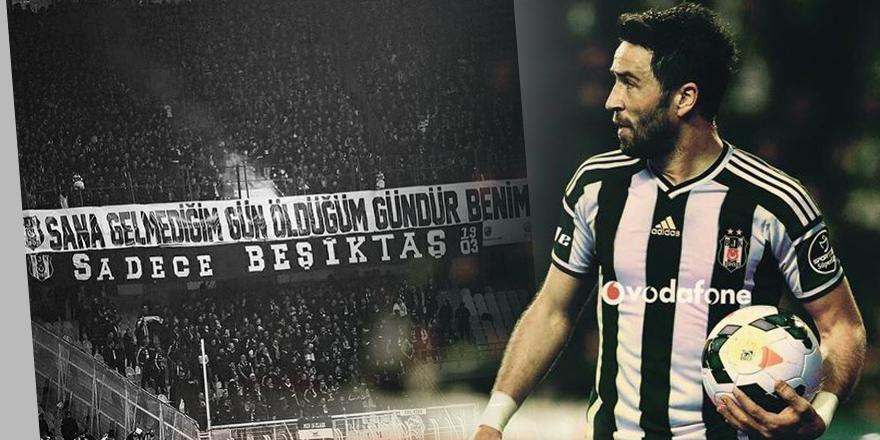 Gökhan Gönül'den Beşiktaş taraftarına teşekkür