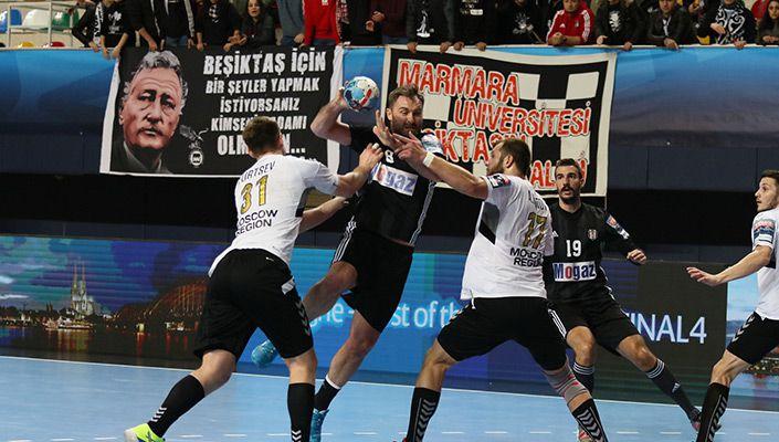 Beşiktaş Mogaz'dan Avrupa'ya veda!