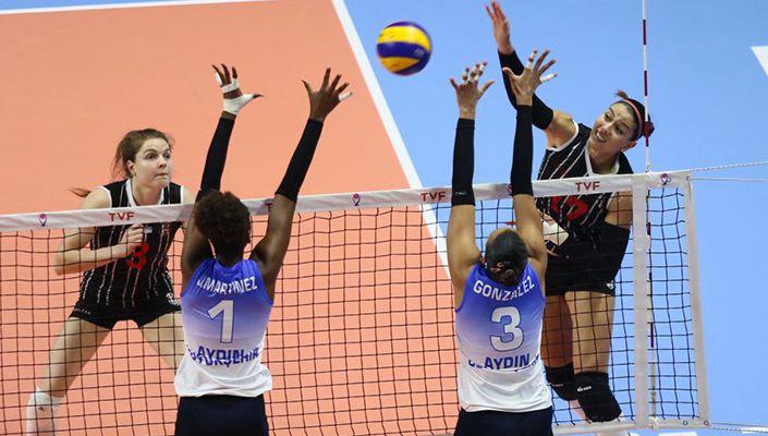 Beşiktaş Kadın Voleybol takımı, Challenge Cup'ta mağlup!