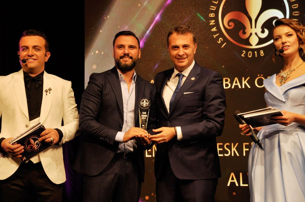"""Fikret Orman'a """"Yılın En İyi Kulüp Başkanı"""" ödülü"""