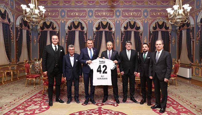 Fikret Orman, İstanbul Valisi'ni ziyaret etti
