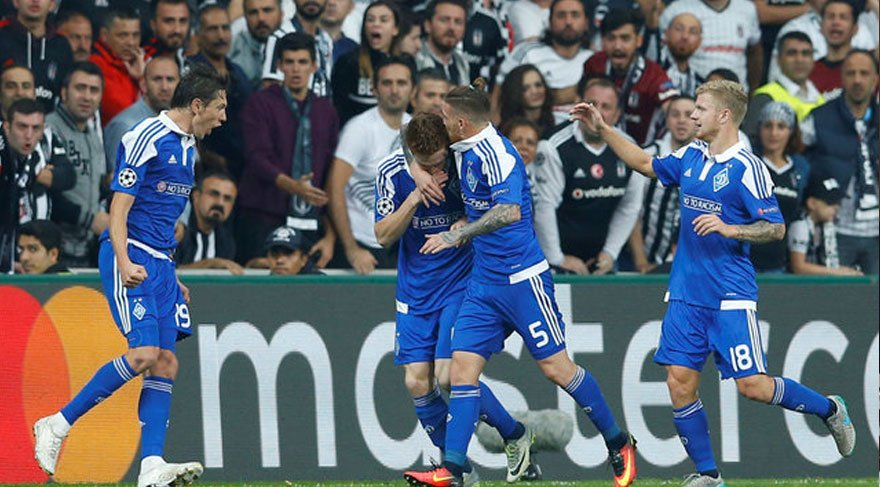 İşte Dinamo Kiev-Beşiktaş maçının hakemi