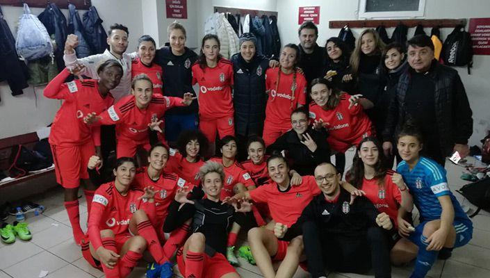 Beşiktaş Kadın Futbol yine galip!
