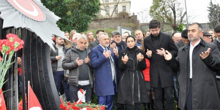 Beşiktaş Kulübü'nden şehitler için anma töreni