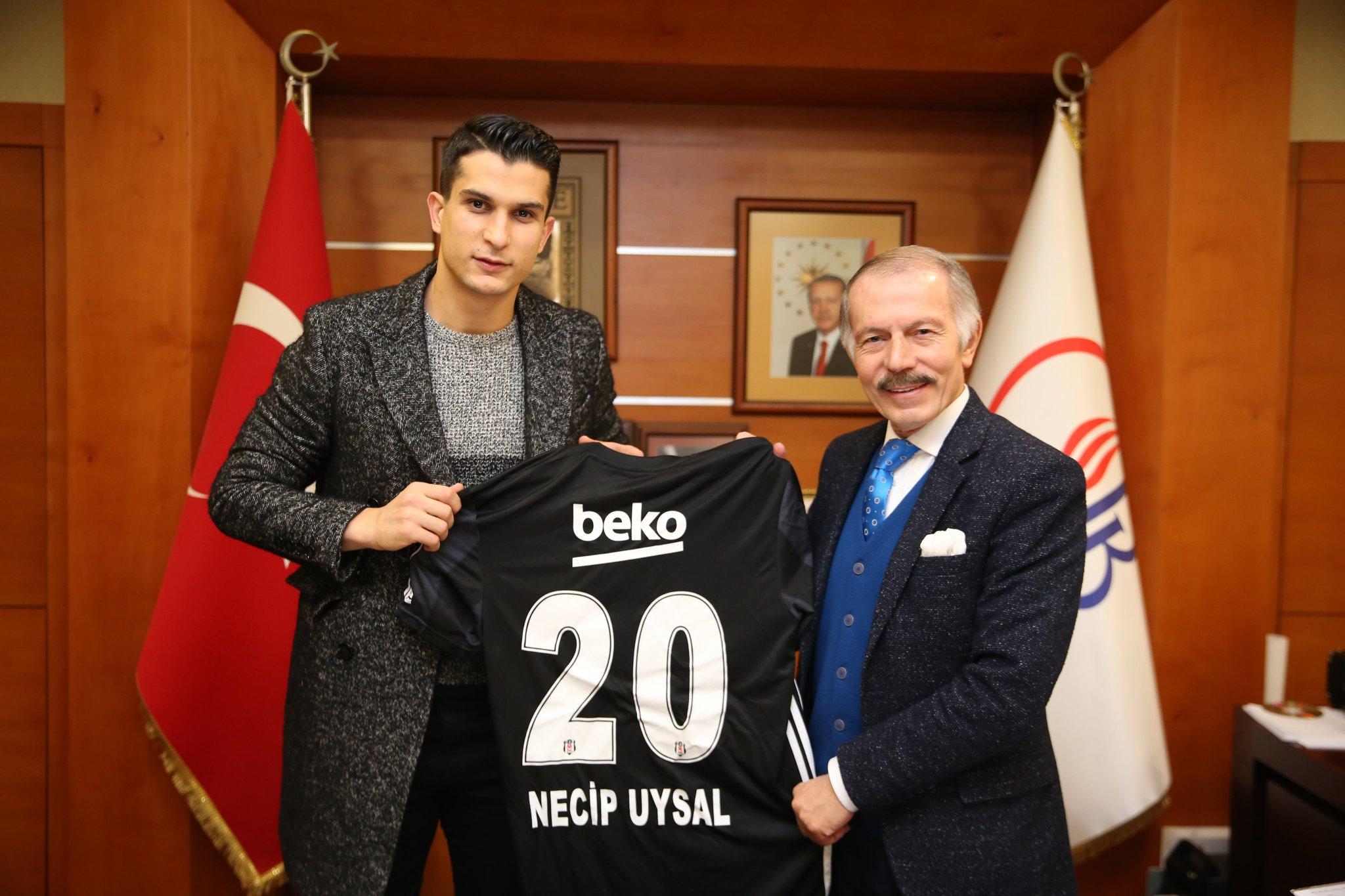 Necip Uysal'dan Bayrampaşa Belediye Başkanı'na ziyaret