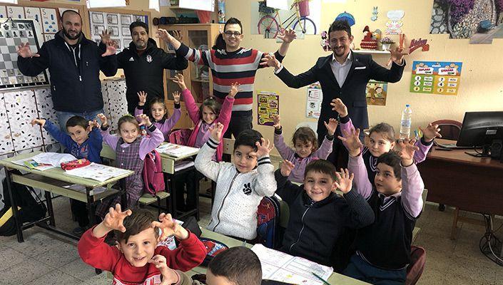 Beşiktaş dernekleri okul ziyaretleri yapıyor