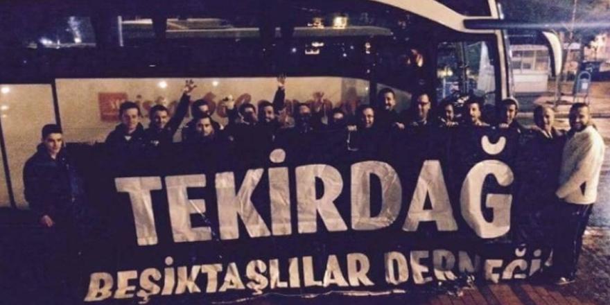 Beşiktaş'ın Kiev kafilesine Tekirdağ'dan destek!