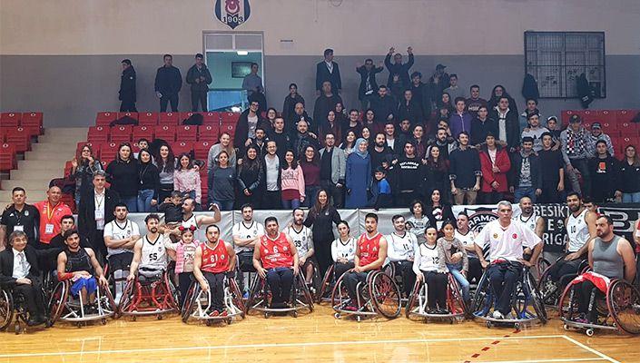 Beşiktaş Tekerlekli Sandalye Basketbol Takımı yine galip!