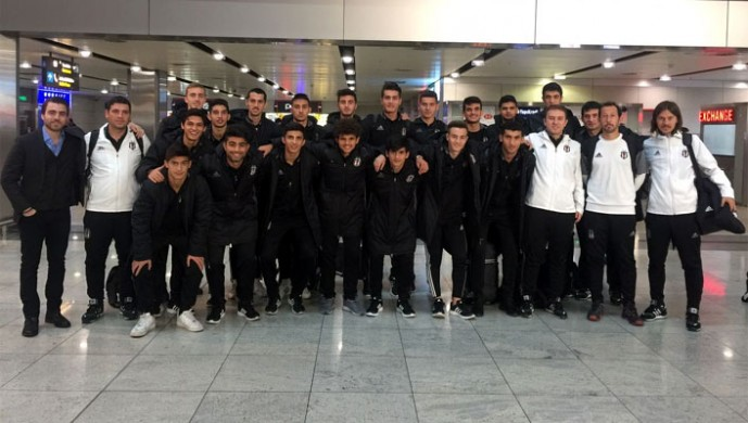 Beşiktaş'ın genç takımı Kiev'e hangi kadroyla gitti?