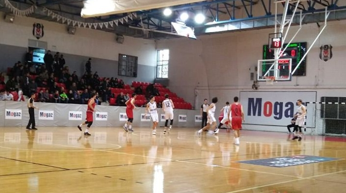Beşiktaş, Gaziantep Basketbol'u farklı geçti