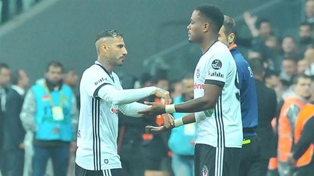 Beşiktaş'ta sıcak saatler! Quaresma görüşme odasına...