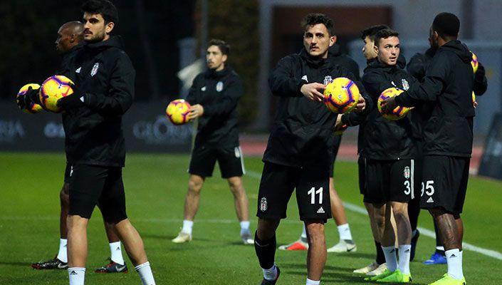 Beşiktaş, Antalya'daki son antrenmanını yaptı