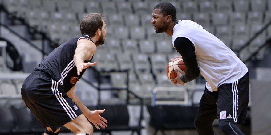 Beşiktaş'ta Proximus Spirou maçı hazırlıkları sürüyor