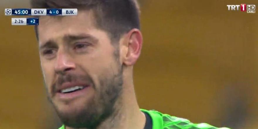 Fabri gözyaşlarını tutamadı