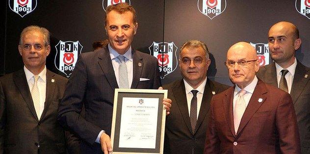 Beşiktaş, finansal raporu açıkladı
