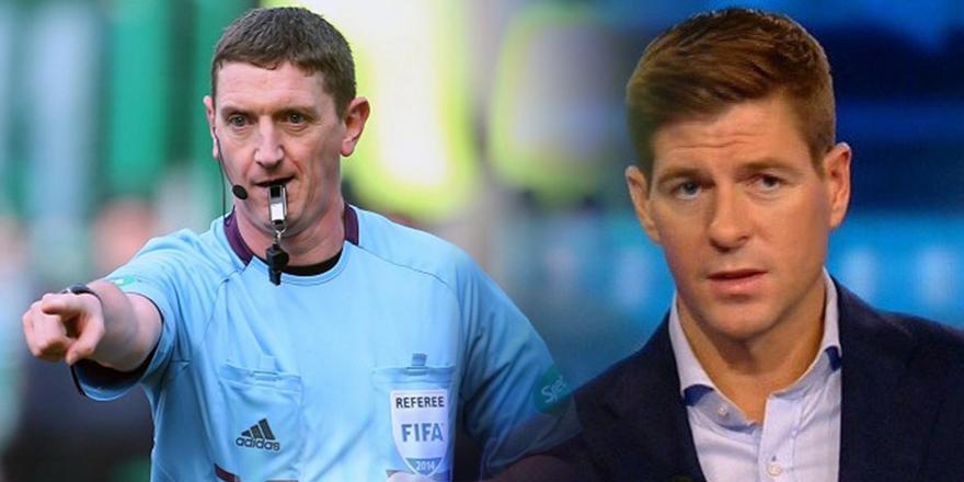 Steven Gerrard da tepkili! ''Bu kadar kötü olmak zorunda mıydı?''